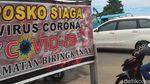 Petugas Cek Suhu Tubuh Warga Hendak ke Makassar untuk Cegah Corona