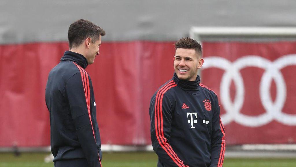 Bayern Vs Frankfurt: Lucas Hernandez Belum Akan Jadi Starter