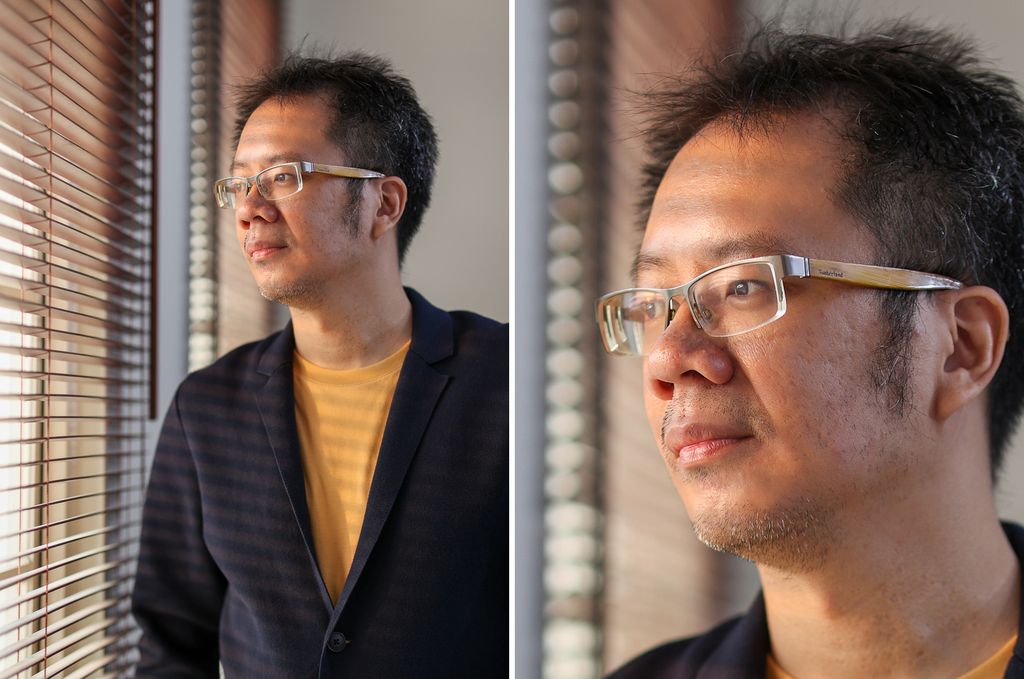 foto dengan lensa EF 85mm f/1.4 IS L USM. Kanan: Crop dari foto kiri menunjukkan detail yang tertangkap dengan baik.