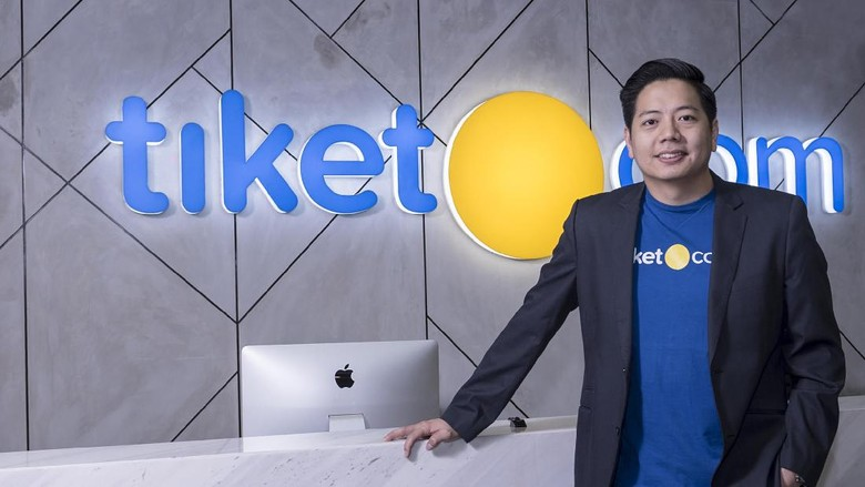 Gaery Undarsa, direktur marketing tiket.com dan founder tiket.com