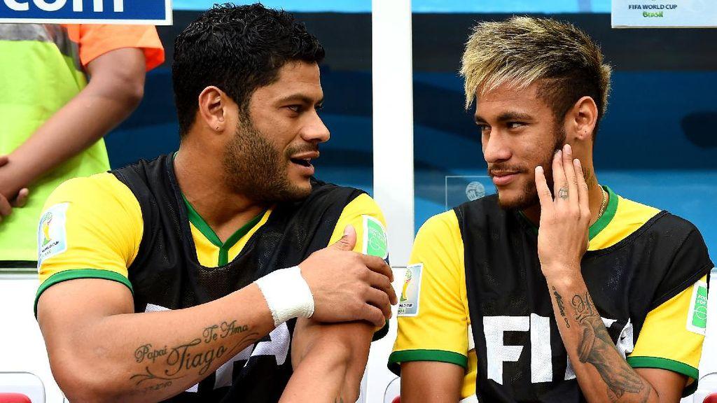 Ibu Neymar Pacari Brondong, Hulk Nikahi Ponakan Mantan Istri