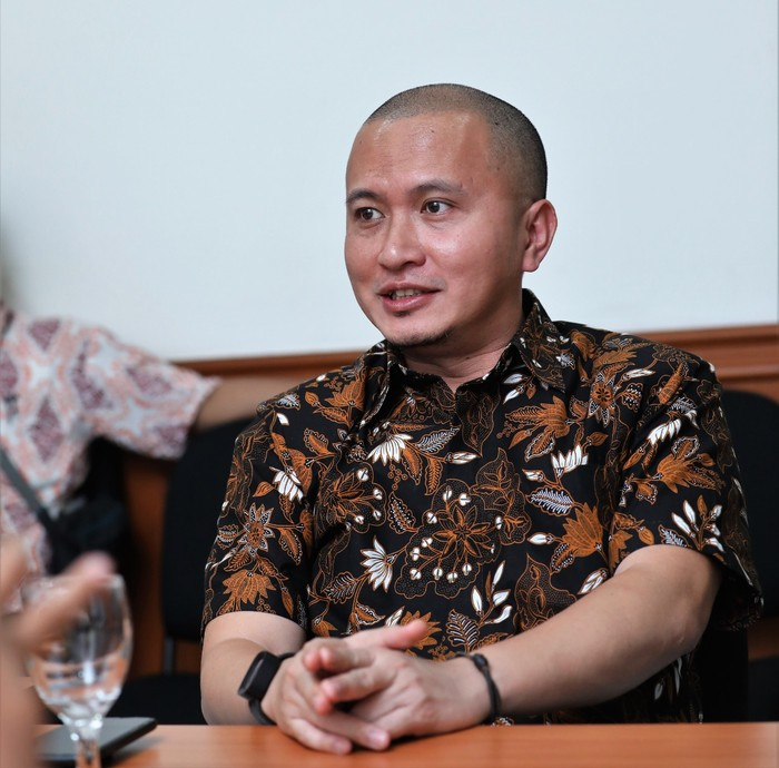 Sekretaris Kementerian Koperasi dan UKM Rully Indrawan