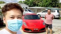 Mewah! Restoran Ini Antar Pesanan Makanan Pakai Mobil Ferrari