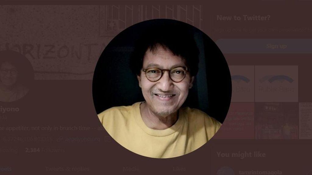 Aktivis Senior AE Priyono Meninggal, Ini Riwayat Kesehatannya