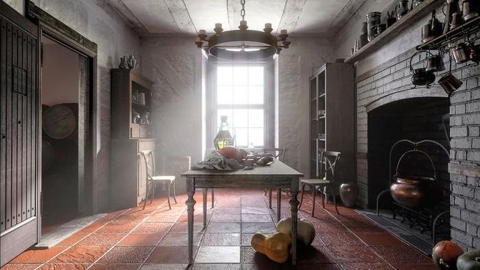 Desain dapur dari abad ke abad