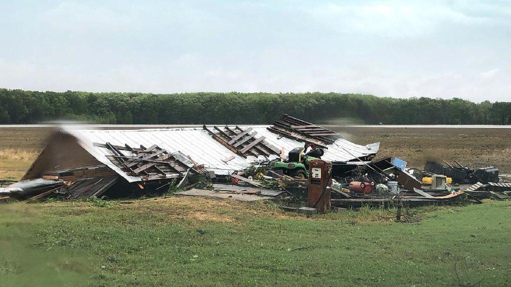 Tornado Terjang Mississippi AS Saat Pandemi Corona, 6 Orang Tewas