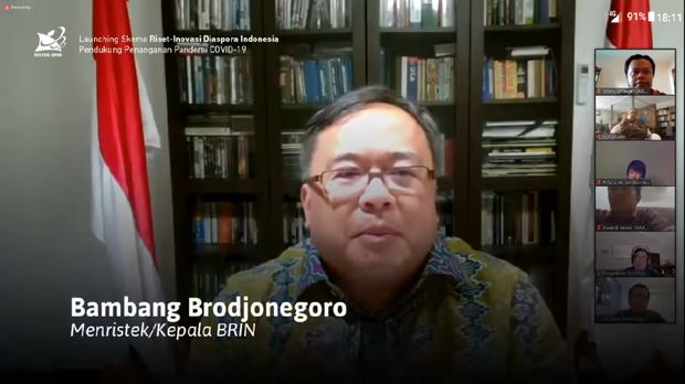 Menristek/Ka-BRIN Bambang P.S. Brodjonegoro
