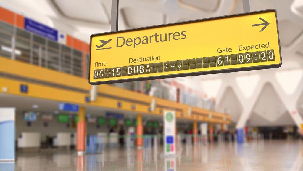 Bandara Tersibuk Dunia Dibuat Sepi Oleh Pandemi