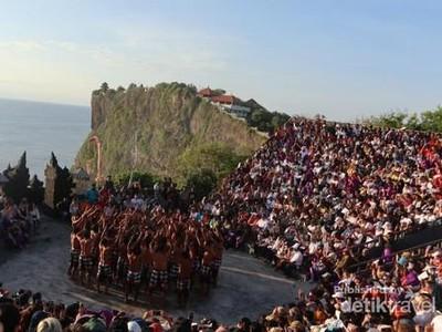 PPKM Jawa Bali Diberlakukan, Tari Kecak Uluwatu Libur Dulu