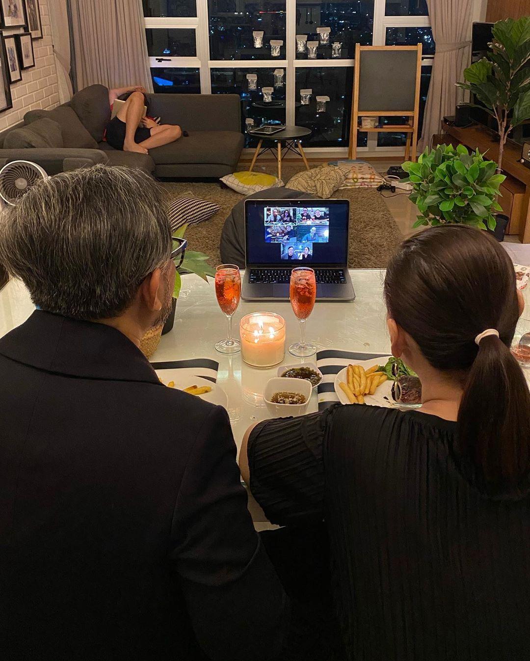 dinner virtual