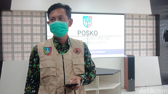 Jubir Gugus Tugas Percepatan Penanganan COVID-19 Jombang Budi Winarno