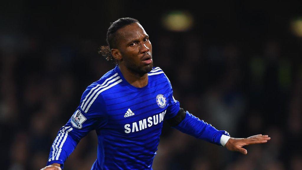 Cara Didier Drogba Lawan Virus Corona di Negaranya