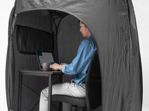 Tenda Ini Bisa Bantu Kamu Lebih Fokus Saat Bekerja dari Rumah