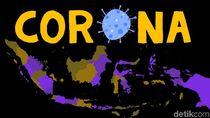 Sebaran 31.186 Kasus Positif Corona di 34 Provinsi Per 7 Juni