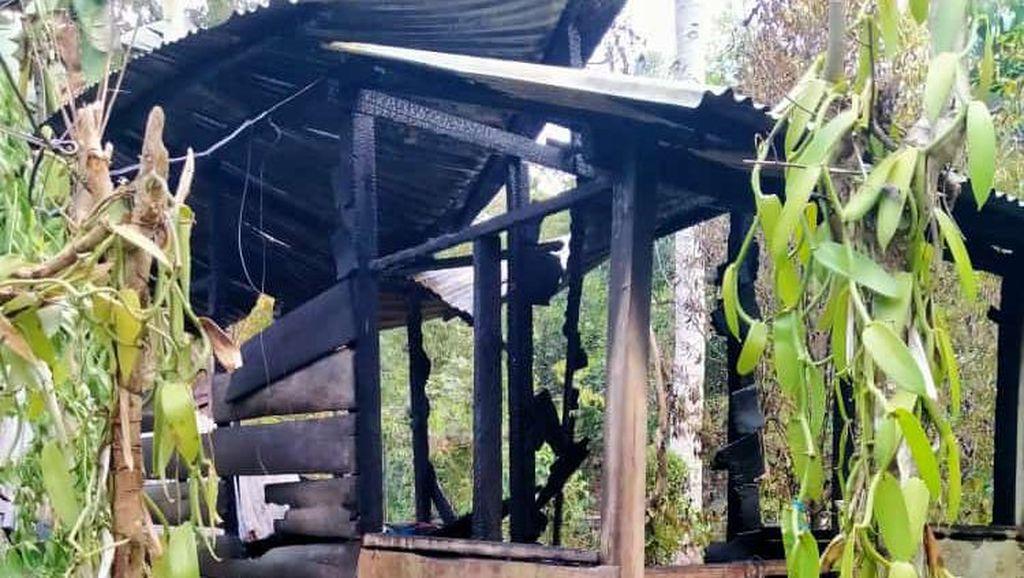 Pasutri di Palopo Kehilangan Tempat Tinggal karena Gubuknya Terbakar