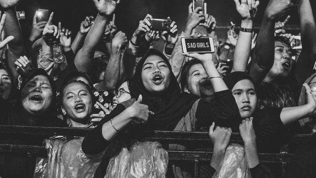 Penonton konser Didi Kempot /