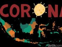 Tembus 80.094, Ini Sebaran Kasus Corona di Indonesia Per 15 Juli