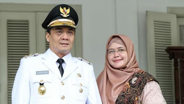 Gubernur DKI Anies Baswedan dan Wagub DKI Ahmad Riza Patria