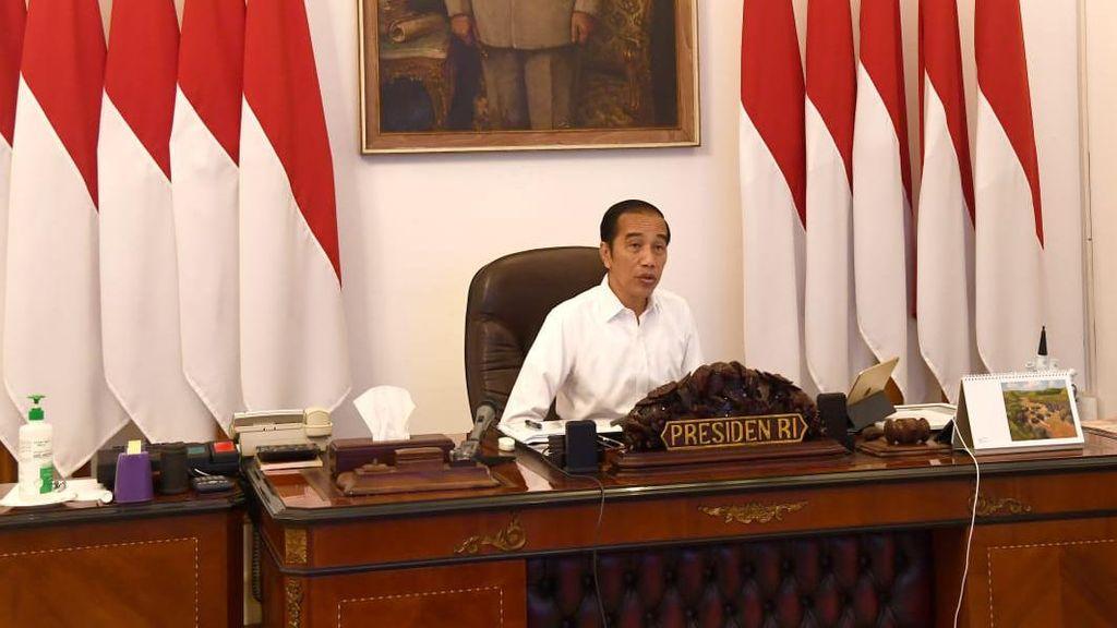 Jokowi: Alhamdulillah di Asia Kita Terdepan Melakukan Vaksinasi
