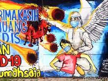 Kabar Baik! Sembuh Corona Indonesia Tembus 200 Ribu Kasus, Ini Sebarannya