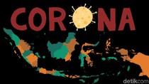 Hanya Kalimantan Utara dan Gorontalo yang Nihil Kasus Baru Corona Hari Ini