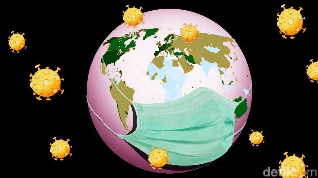 Kasus WNI Positif Corona di Luar Negeri Jadi 1.175, Terbaru di UEA-Arab Saudi
