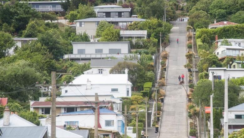 Jalan Baldwin, Dunedin, New Zealand