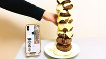 Anti Gabut! Bikin Saja Menara Burger Isi Daging 2 Kilogram