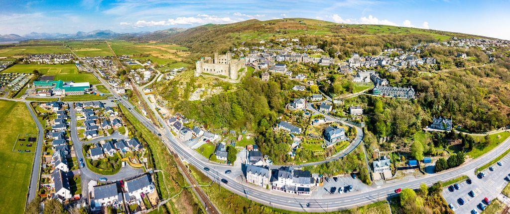 Kota Harlech di Wales