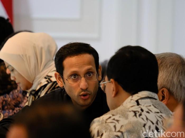 Menteri Pendidikan dan Kebudayaan (Mendikbud) Nadiem Makarim