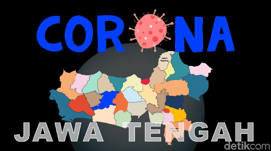 10 Besar Kasus Corona di Jateng: Semarang Tertinggi, Solo Termasuk