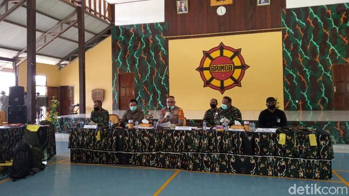 Kapolda Papua Irjen Paulus Waterpauw saat di Mako Brimob Bataliyon B Timika (Saiman/detikcom)
