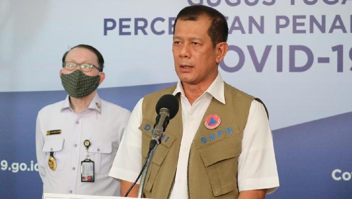 Kepala BNPB sekaligus Ketua Gugus Tugas Percepatan Penanggulangan COVID-19 Doni Monardo