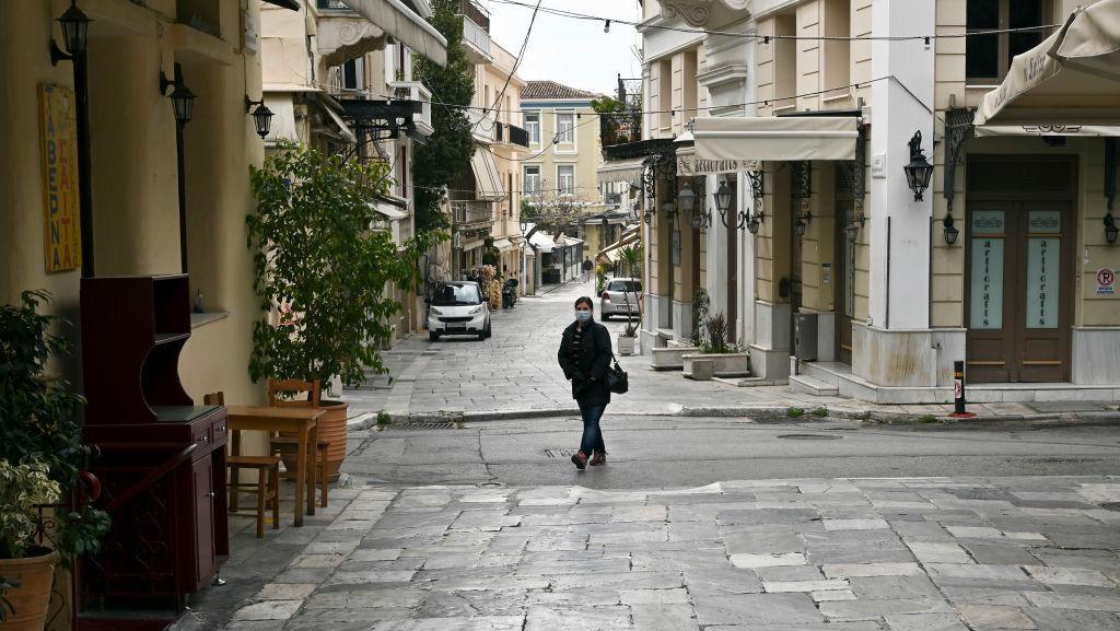 Yunani Umumkan Denda 500 Euro Bagi Pelanggar Protokol Kesehatan