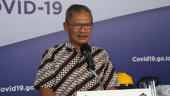 Jubir Pemerintah untuk Penanganan COVID-19 Achmad Yurianto