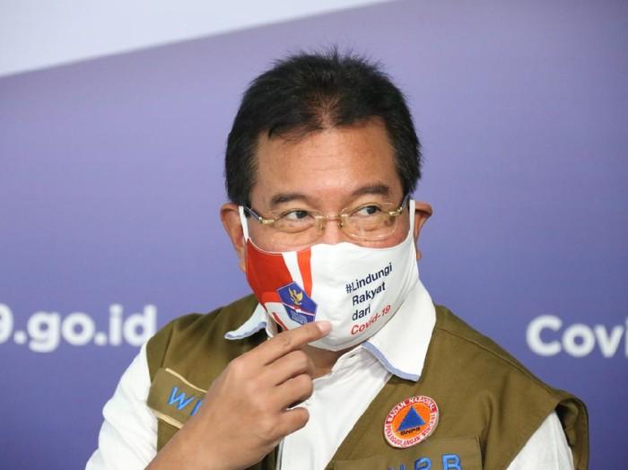 Ketua Tim Pakar Gugus Tugas Penanganan Covid-19 Prof Wiku Adisasmito