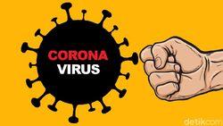 Ada 293 Pasien Corona Sembuh Pada 31 Mei, DKI-Sumsel-Sulsel Terbanyak