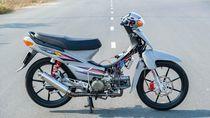Lebih Dekat dengan Modifikasi Supra Jahat Bermesin 190 cc