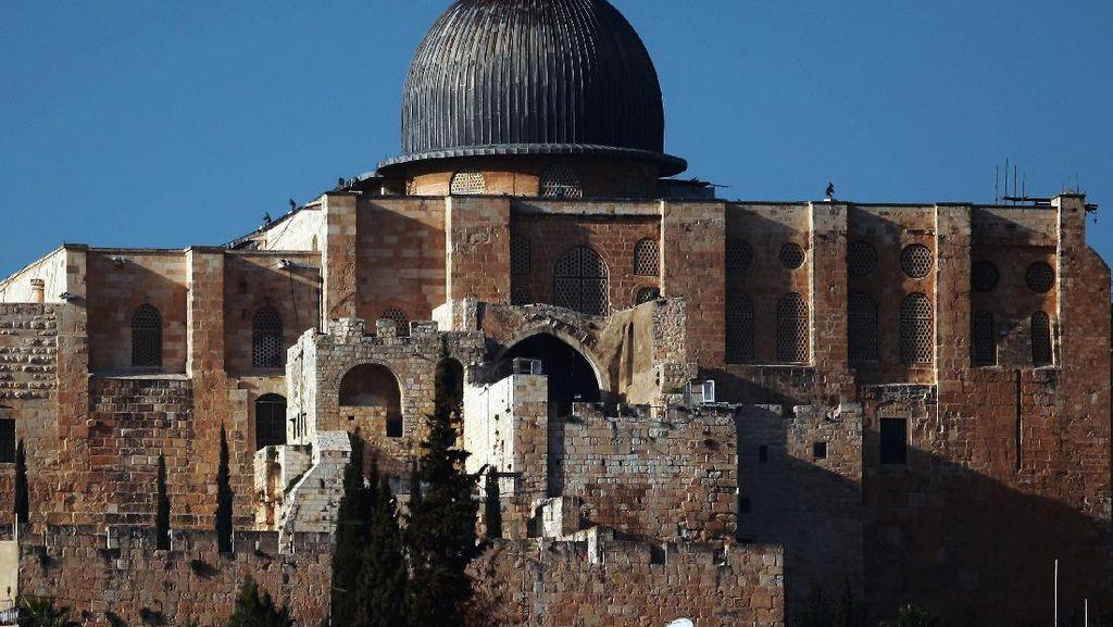 Ini Warna Kubah Masjid Al-Aqsa, Jangan Tertukar dengan Dome of the Rock