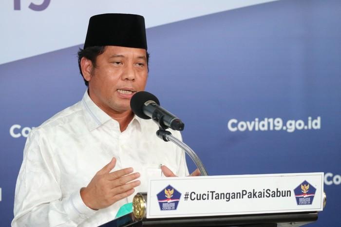 Dirjen Bimbingan Masyarakat Islam Kemenag Kamaruddin Amin