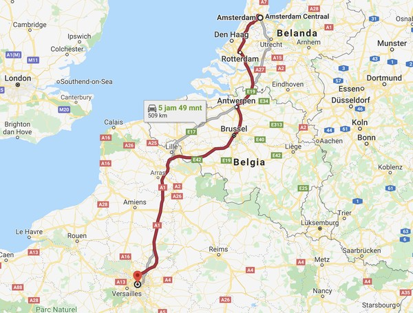 Dengan menggunakan Hyperloop, perjalanan Amsterdam-Paris bisa ditempuh dalam waktu 90 menit saja. Lebih cepat dari kereta biasa dan lebih ramah lingkungan dibanding dengan naik pesawat. (CNN)