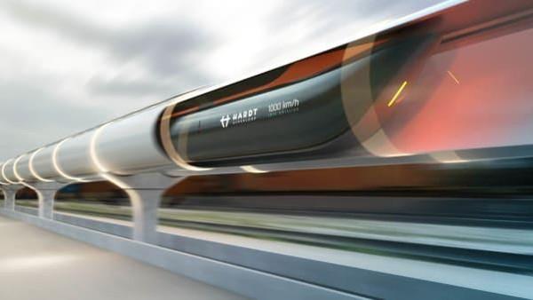 Saat ini, riset masih terus dilakukan. Hyperloop juga dipercaya akan memicu pertumbuhan ekonomi hingga 2 kali lipat di masa yang akan datang. (dok. Hardt Hyperloop)