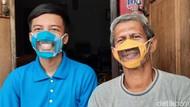 Spirit Inovasi New Normal, Masker Transparan Tuna Rungu-Kumis FX Rudy