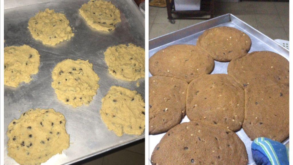 Pertama Kali Buat Cookies, Netizen Ini Kaget Hasilnya Mirip Telur Dadar
