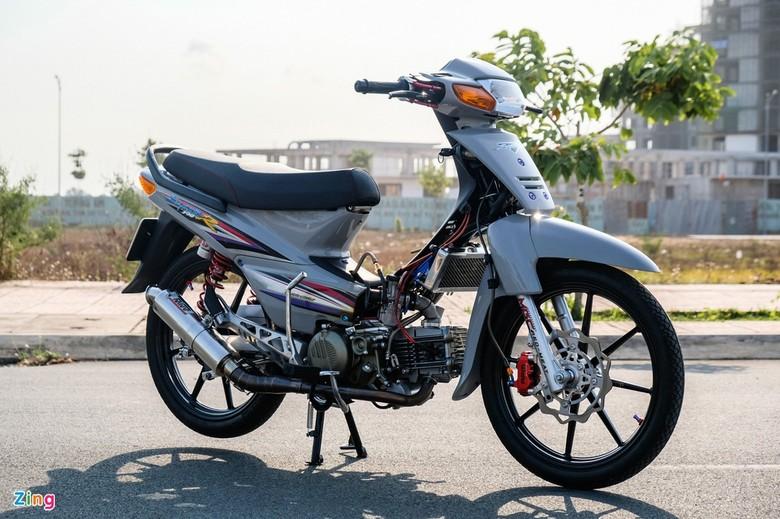 Modifikasi Honda Supra bermesin 190 cc