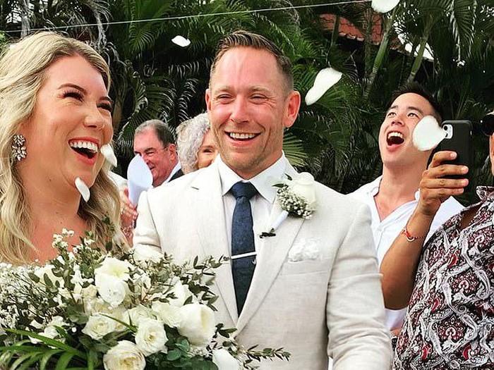 Pasangan Australia menikah di Bali