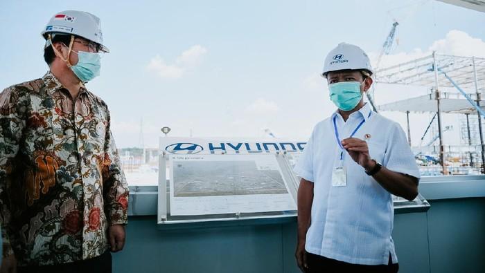 Pabrik Hyundai di Indonesia tetap dibangun kendati terjadi pandemi virus Corona