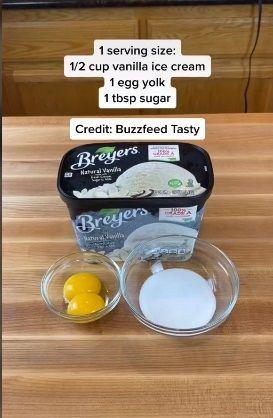 Resep creme brulee TikTok