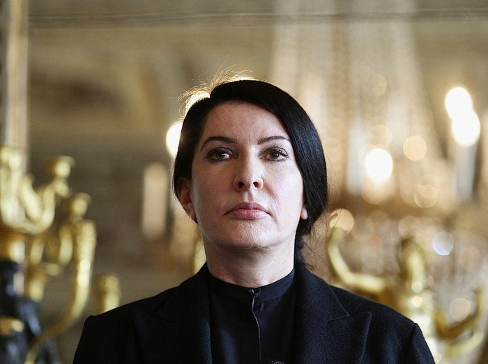 MUNICH, GERMANY - MARCH 11: Artist Marina Abramovic during the premiere of BODY OF TRUTH by Evelyn Schels at City Kino on March 11, 2020 in Munich, Germany. (Photo by Hannes Magerstaedt/Getty Images)