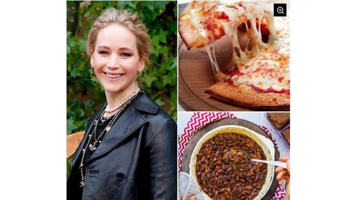 Kombinasi makanan aneh seleb Hollywood